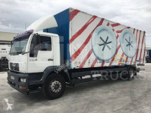 MAN 18.285 truck used plywood box