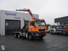 MAN TGS 26.400 truck used hook arm system