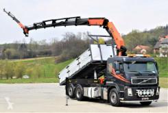 Volvo flatbed truck FM 400 Kipper 5,50m* PK29002E + JIBPJ060B + FUNK