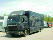 Camion van per trasporto di cavalli MAN 12.192 Pferdetransporter*Platz für 5 Pferde*
