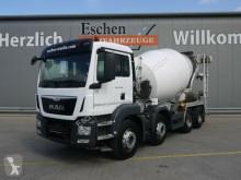 Lastbil betong blandare MAN TGS TGS 32.360 8x4 BB*9 m³ Stetter*EUR6*Kamera*Klima