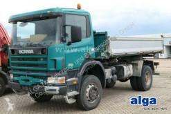 Lastbil Scania R114CB HZ 4x4, Allrad, Partikelfilter, 340PS tre vagnar begagnad