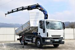 Camión volquete volquete trilateral Iveco Eurocargo 150E25