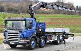 Camião estrado / caixa aberta estandar Scania P 380