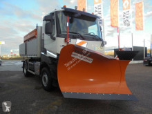 Renault Kerax 380 used snow plough-salt spreader