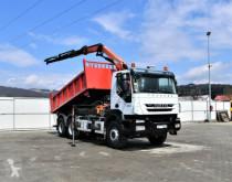 Kamion plošina Iveco TRAKKER 360 Kipper 4,70m+PK 13001-KB / 6x4