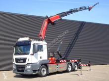 MAN TGS truck used hook lift