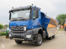 Lastbil Mercedes Arocs 3351 6x6 3-Achs Allradkipper Bordmatik flak begagnad