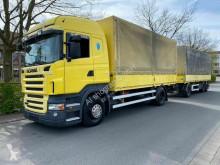 Scania ponyvával felszerelt plató nyerges vontató és pótkocsi R R440 LB4X2MNA / E5 / Standklima / Komplettzug