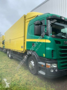 Lastbil kassevogn krydskobling Scania P P400 Orten Getränke Doppel AHK