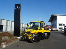 Camion Mercedes Unimog U400 Zweiwege Zagro 800 Tonnen, Railway