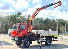 Camion Iveco 140E18 4x4 PALFINGER PK 12500 DRILL Cran Kran . cassone usato