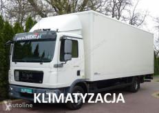 MAN furgon teherautó TGL 12.180 EURO 5 kontener winda klapa poduszki