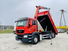 Camion MAN TGS 26.360 TGX TGM TGL 6x2 , 6x4 Kiper 3S + kran , Supe benne occasion