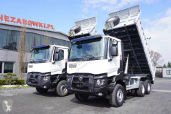 Renault truck used three-way side tipper