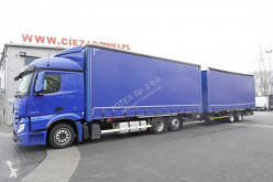 Vrachtwagen Mercedes Actros 2548 tweedehands Schuifzeilen