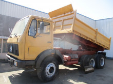 Camión Mercedes FAP 2026 , 6 Cylinder , ZF Manual , 3 way tipper , Spring suspension volquete volquete trilateral usado