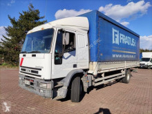 Lastbil Iveco Eurocargo 150 E 23 skjutbara ridåer (flexibla skjutbara sidoväggar) begagnad