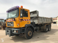 MAN two-way side tipper truck 33.414