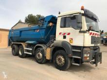 Lastbil MAN TGA lastvagn bygg-anläggning begagnad