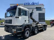 Camion polybenne MAN TGA TGA 35.430 8x4 Palift Hakengerät Intarder Euro 4