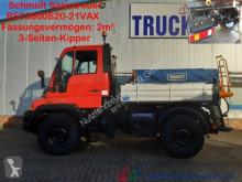 Camion spargisale Unimog Unimog U300 Winterdienst Streuer Wechsellenkung