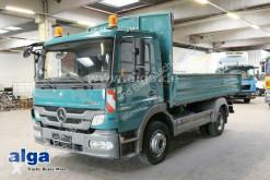 Camion Mercedes Atego 1224 K Atego 4x2, Hydraulik, 2x AHK., Euro 5 benă trilaterala second-hand