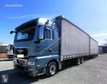 Camion remorque rideaux coulissants (plsc) MAN TGX TGX 26.440 Pritsche/Plane Jumbo 6x2 (46)