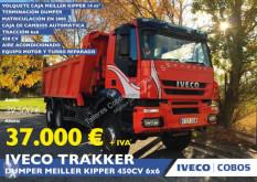 Lastbil flak Iveco Trakker 450