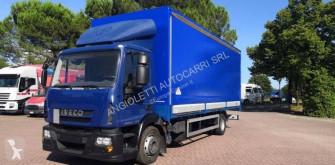 Lastbil Iveco Eurocargo 120 E 22 skjutbara ridåer (flexibla skjutbara sidoväggar) begagnad