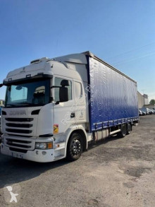 Scania G 400 truck used tautliner