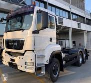 Camión MAN TGS 28.480 volquete volquete trilateral usado