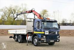 Camión Volvo FM7 290 Pritsche 6,10m + FASSI F80.A22 ! caja abierta usado
