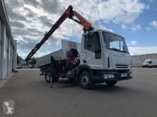 Camion bi-benne Iveco Eurocargo TECTOR 160 E 22KT BIBENNE GRUE