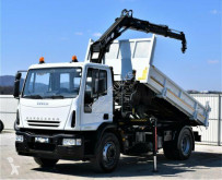Iveco two-way side tipper truck Eurocargo 180E24