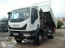 Camión Iveco Eurocargo 150 E 28 K tector volquete benne TP usado