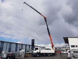 Lastbil platta häckar MAN TGS TGS 26.500 6x2 Pritsche/Kran Atlas 250.2T-A27