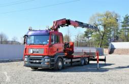 Kamion MAN TGA 26.400 Pritsche 6,50m + FASSI F450XP + FUNK! plošina použitý