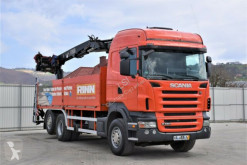 Camion Scania R480 Pritsche 6,50m + FASSI F185 AS.22 ! plateau occasion