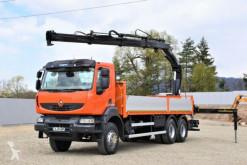 Camion cassone Renault Kerax 370 DXI* HIAB 166 B-3 HIDUO+FUNK /6x4