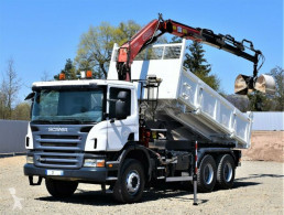Camion cassone Scania P360 Kipper 5,10m + FASSI F150A.23 + Bordmatic !