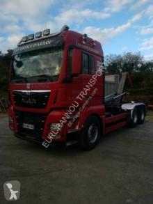 Camion polybenne MAN TGX 26.480