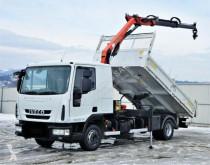 Camión volquete trilateral Iveco Eurocargo 120EL22
