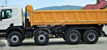 Scania two-way side tipper truck P 380