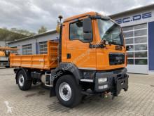 Camion tri-benne MAN TGM 13.250 4x4 EURO6 Dreiseitenkipper
