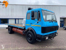 Camion plateau Mercedes 1635 Manual full steels V8 Engine
