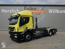 Lastbil polyvagn Iveco AT260 SY/PS42*Meiller RS21.65*Lenk/Lift*Navi*ACC
