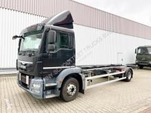 Camion MAN TGM 15.250 4x2 LL 15.250 4x2 LL mit Dautel LBW furgone usato