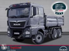 Camión MAN TGX 26.510 6X4 BB-MEILLER-AHK-NAVI-KLIM-INTAR volquete trilateral usado