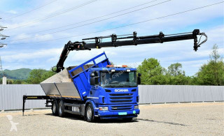 Camion benne Scania G420 Kipper 6,80 m + HIAB 211EP-5HIDUO + FUNK